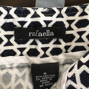 Rafaella cotton/spandex mini jean skirt